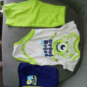 *🍭5 for $25* disney baby mike wazowski set